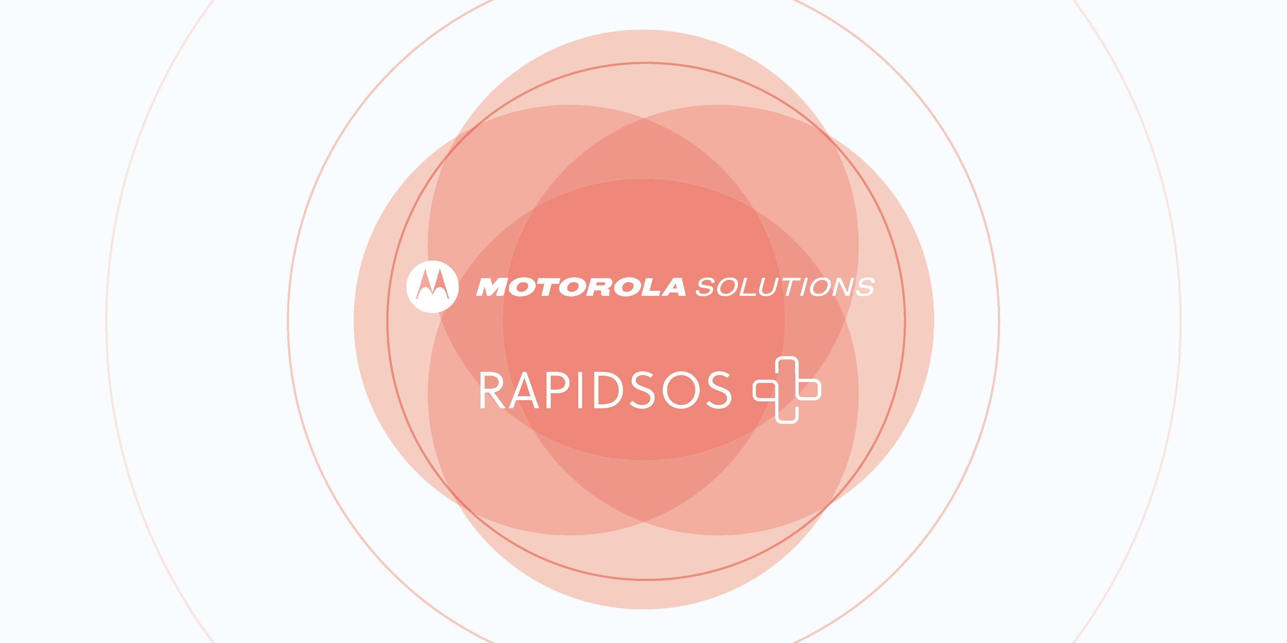 Motorola Solutions and RapidSOS data integration logo