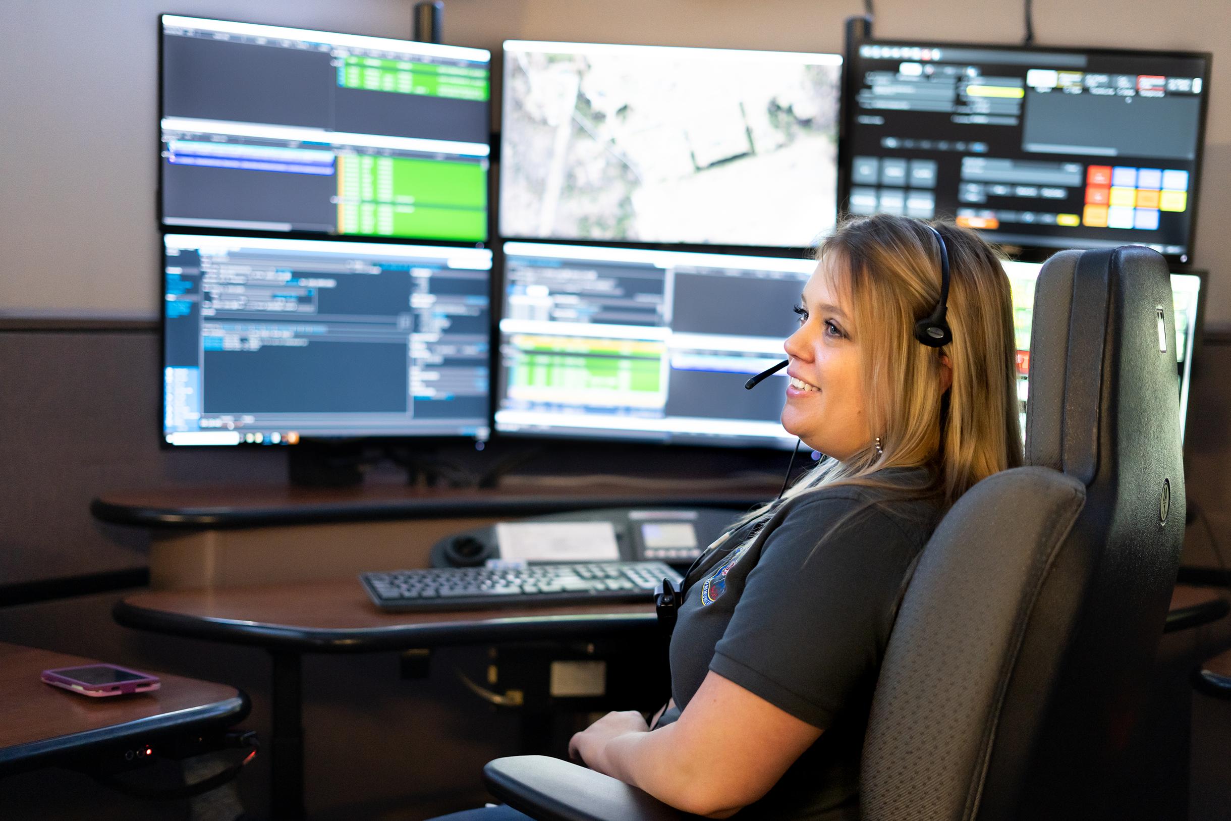 A 911 responder looks at RapidSOS Portal