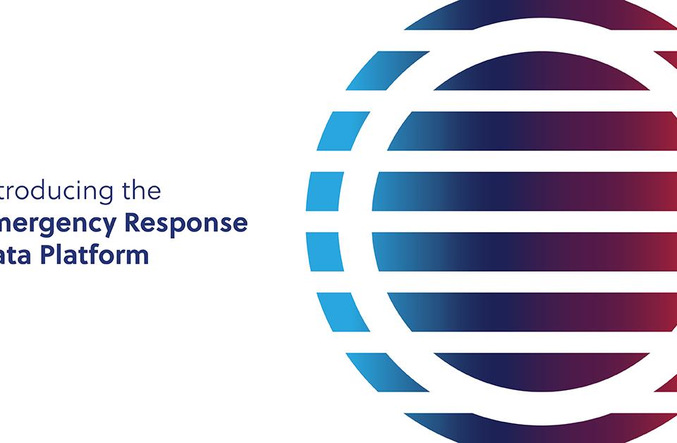 Introducing the emergency response data platform graphic