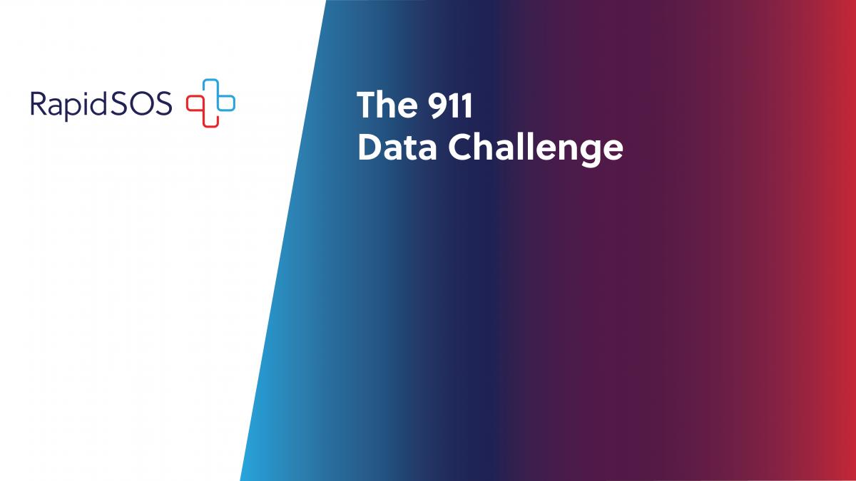 The 911 data challenge graphic