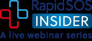 RapidSOS Insider, a live webinar series logo