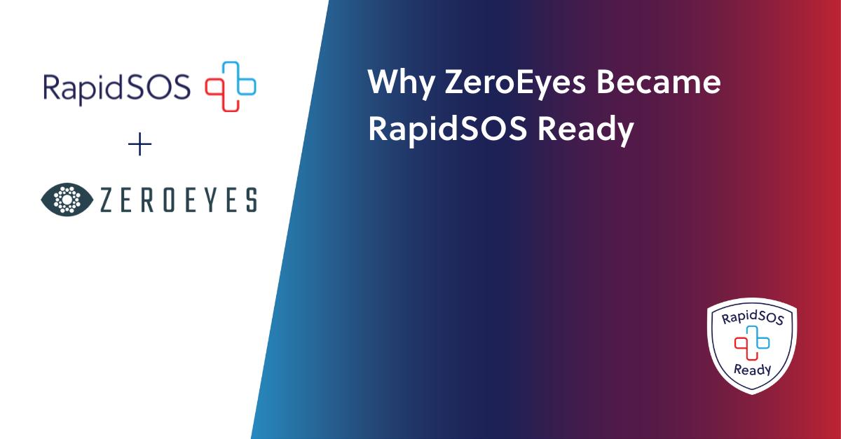 Why ZeroEyes Became RapidSOS Ready - Blog Header Image