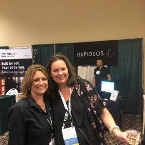 Amy Marion with Tracy Eldridge