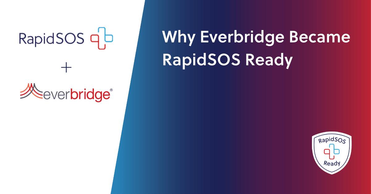 Everbridge and RapidSOS announcement