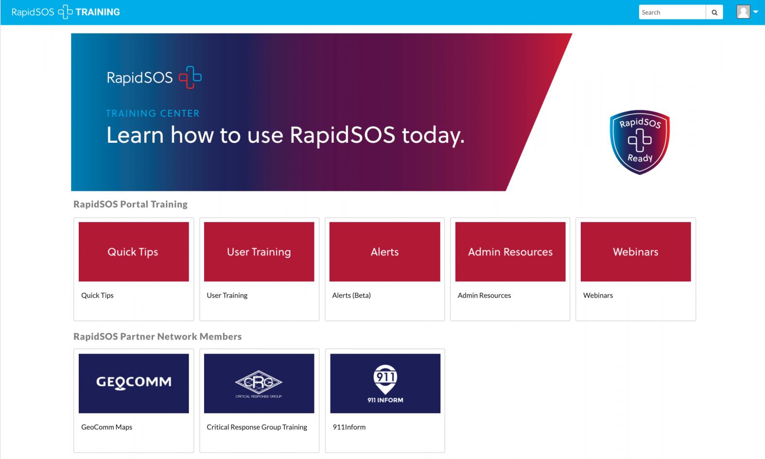 RapidSOS Training Center
